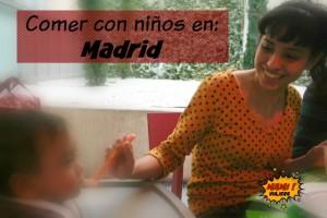 comer con niños en madrid