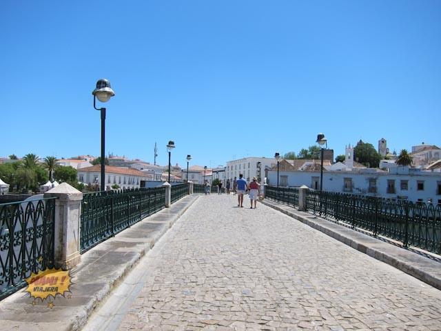 El Puente Romano de Tavira es peatonal