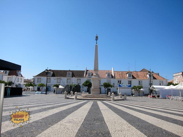 Plaza Marqués de Pombal Vila Real de Santo Antonio