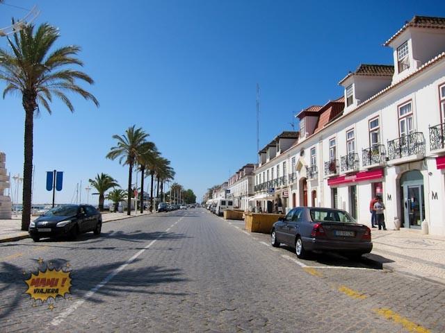 Avenida junto a la marina