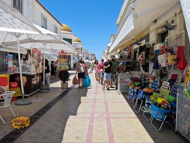 Calles peatonales del centro de Vila Real de Santo Antonio