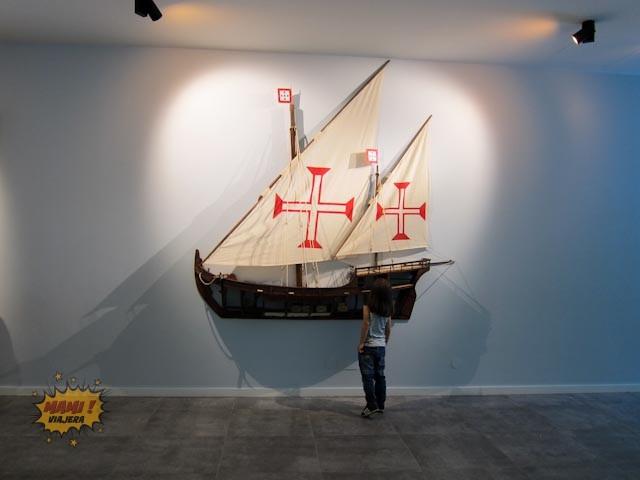 La sala de los barcos